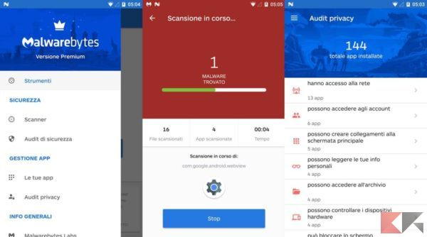 Antivirus per Android - antivirus android - Malawarebytes