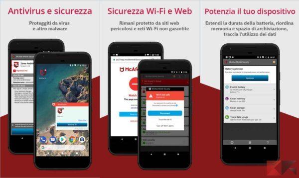 Antivirus per Android - antivirus android - McAfee