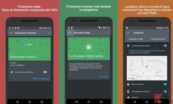 Antivirus per Android - antivirus android - bitdefender