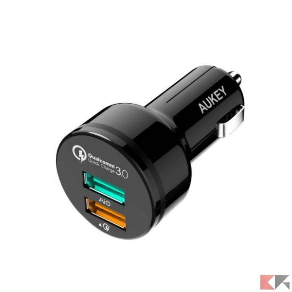 Aukey Quick charge 3.0 auto