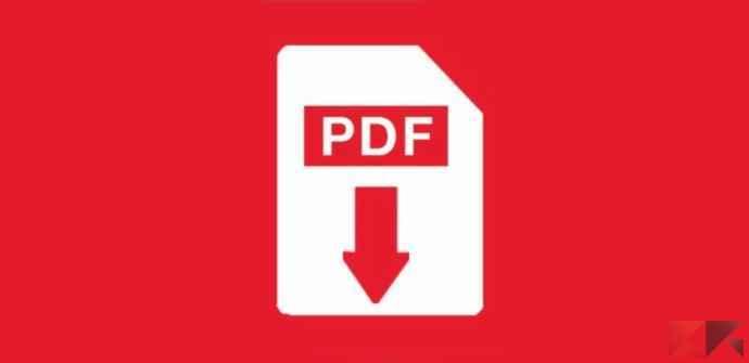 unire diversi pdf in un unico documento