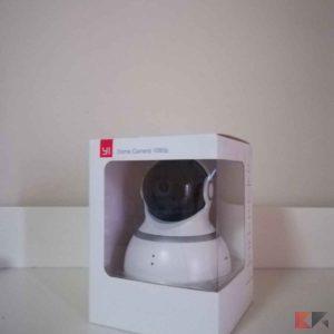 Yi Dome Camera 1080p : controllo a 360° per la casa