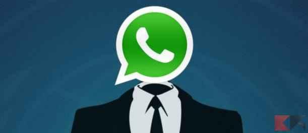 Inviare messaggi anonimi WhatsApp