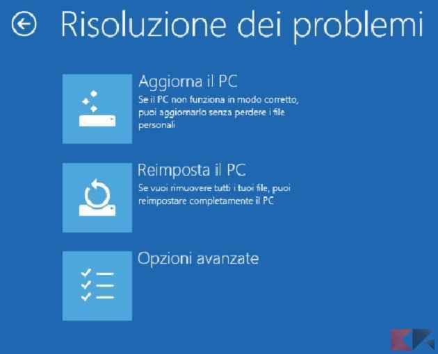 Risoluzione dei problemi - Windows