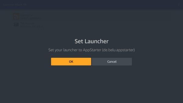 Set launcher