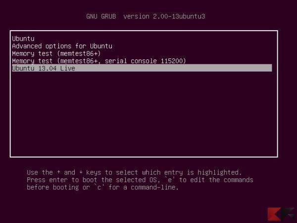 Ubuntu Desktop 13 04 Grub