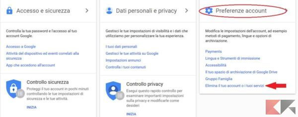 come-eliminare-account-google-preferenze-account
