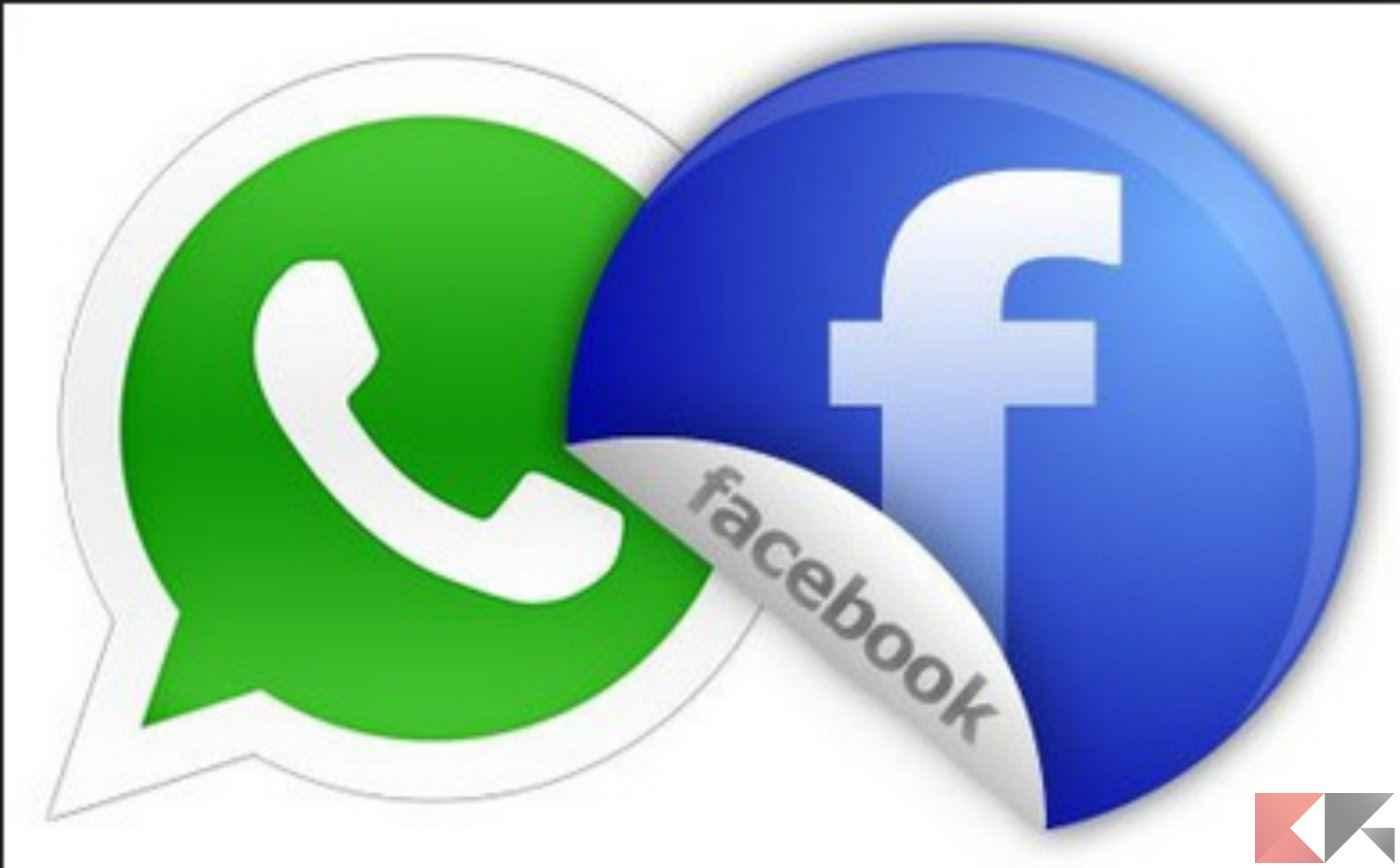 inviare video facebook su WhatsApp