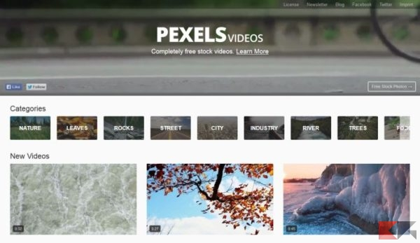 Dove scaricare video gratis (senza copyright)