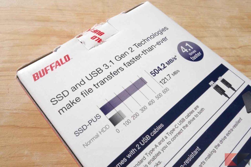 SSD Buffalo MiniStation 240 GB