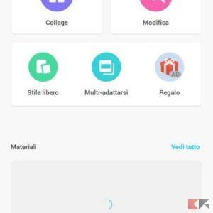unire foto su Android