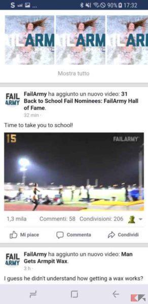 video facebook mobile
