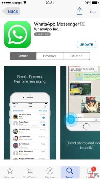 iphone app store come installare whatsapp chimerarevo 11598