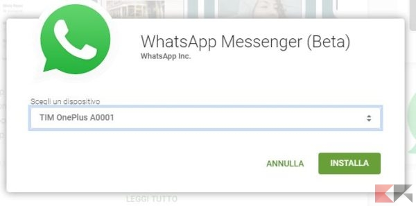 whatsapp play store web
