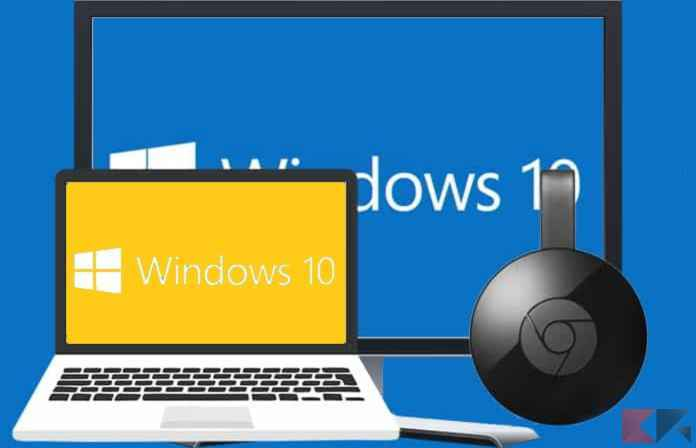 windows10 chromecast