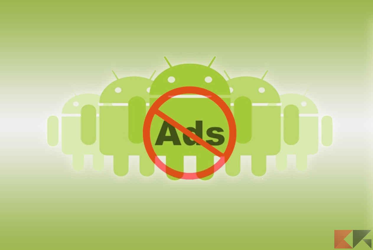 Bloccare pubblicità Android