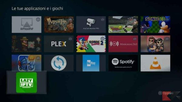 IPTV su Fire TV Stick: guida rapida