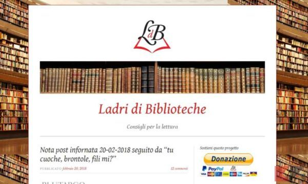 eBook Kindle Gratis: Ladri di Biblioteche