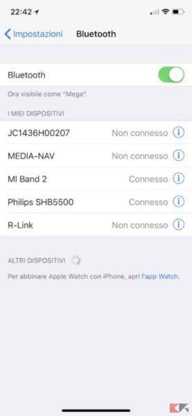 bluetooth iphone