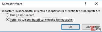 come modificare interlinea Microsoft Word