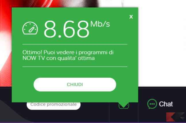 connessione now tv