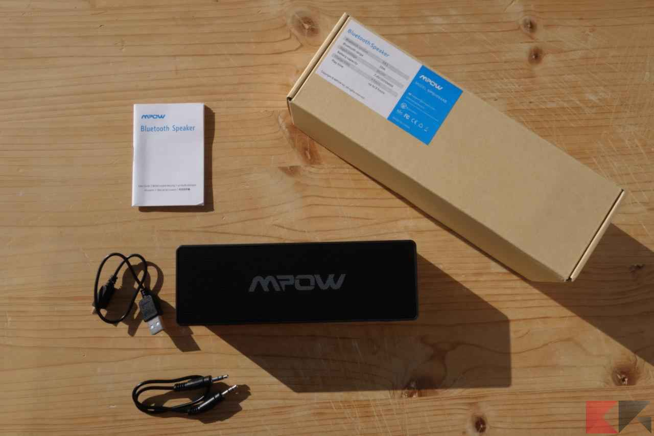 Speaker Bluetooth Mpow Cassa Bluetooth Mpow LPMPBH064AB