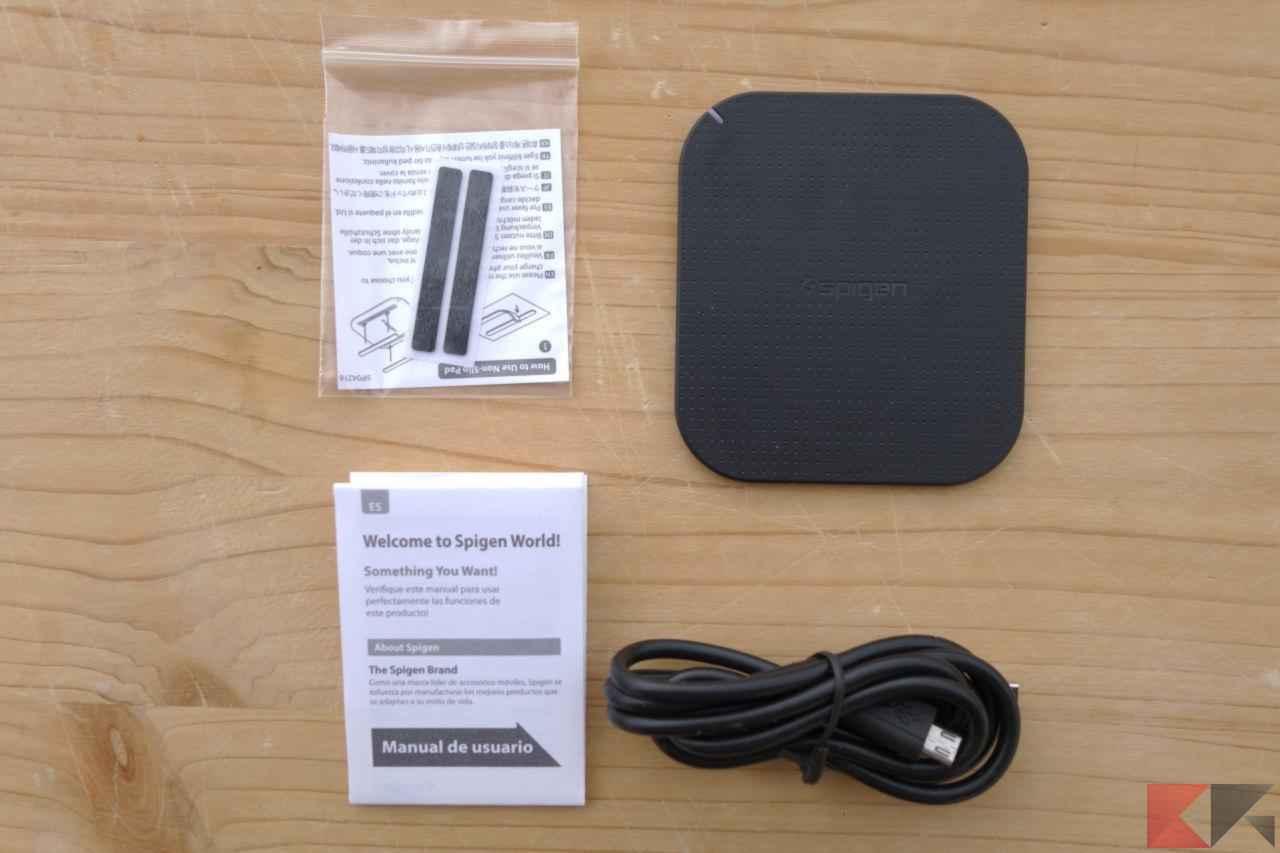 Caricabatterie Wireless Spigen f302w