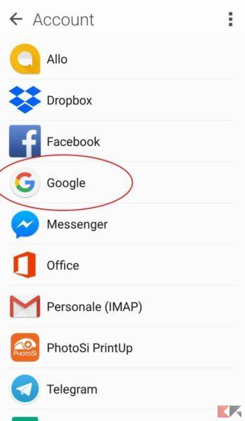 trasferire dati e app da Android a Android