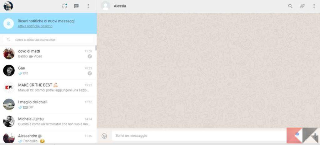 Come usare WhatsApp Web