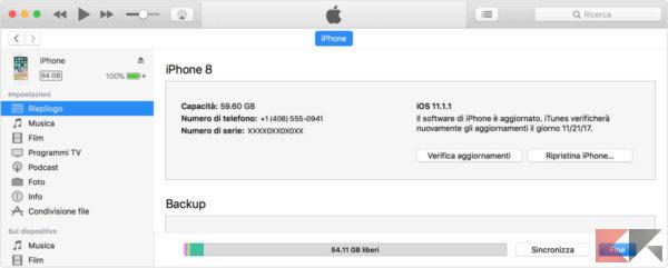 IMEI iPhone iTunes - iphone rubato o perso spento - trova il mio iphone
