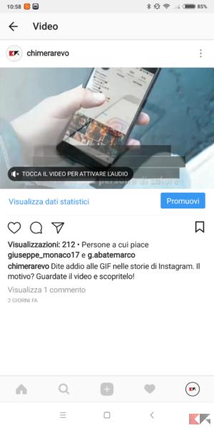 didascalia instagram