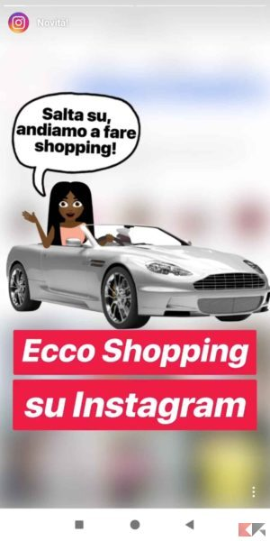 Instagram Shopping: come funziona