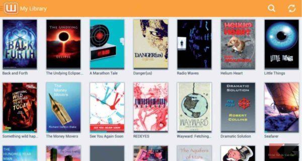 app per leggere libri gratis: Wattpad