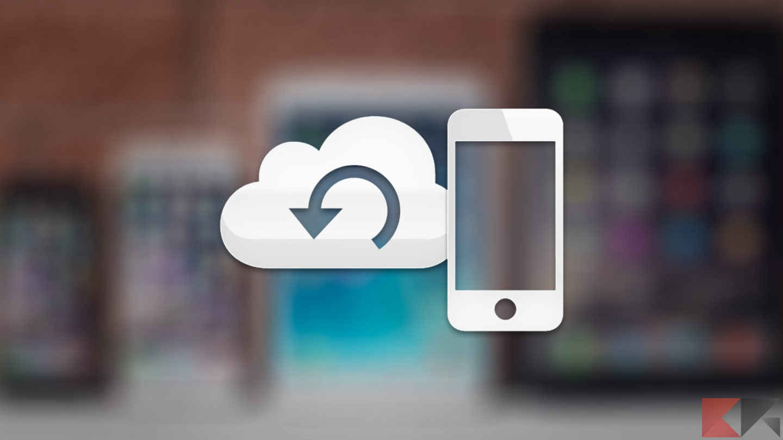 backup ios iphone