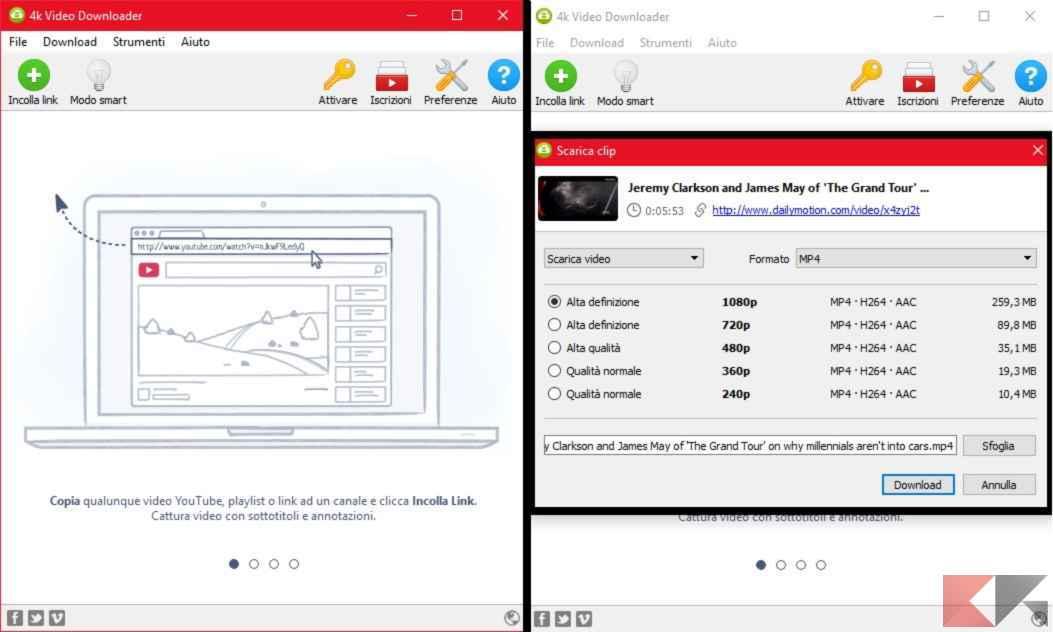 scaricare video da dailymotion con mac