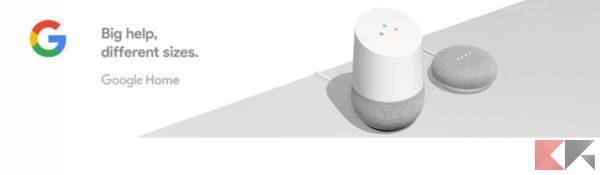 Google Home: cos'è e come funziona