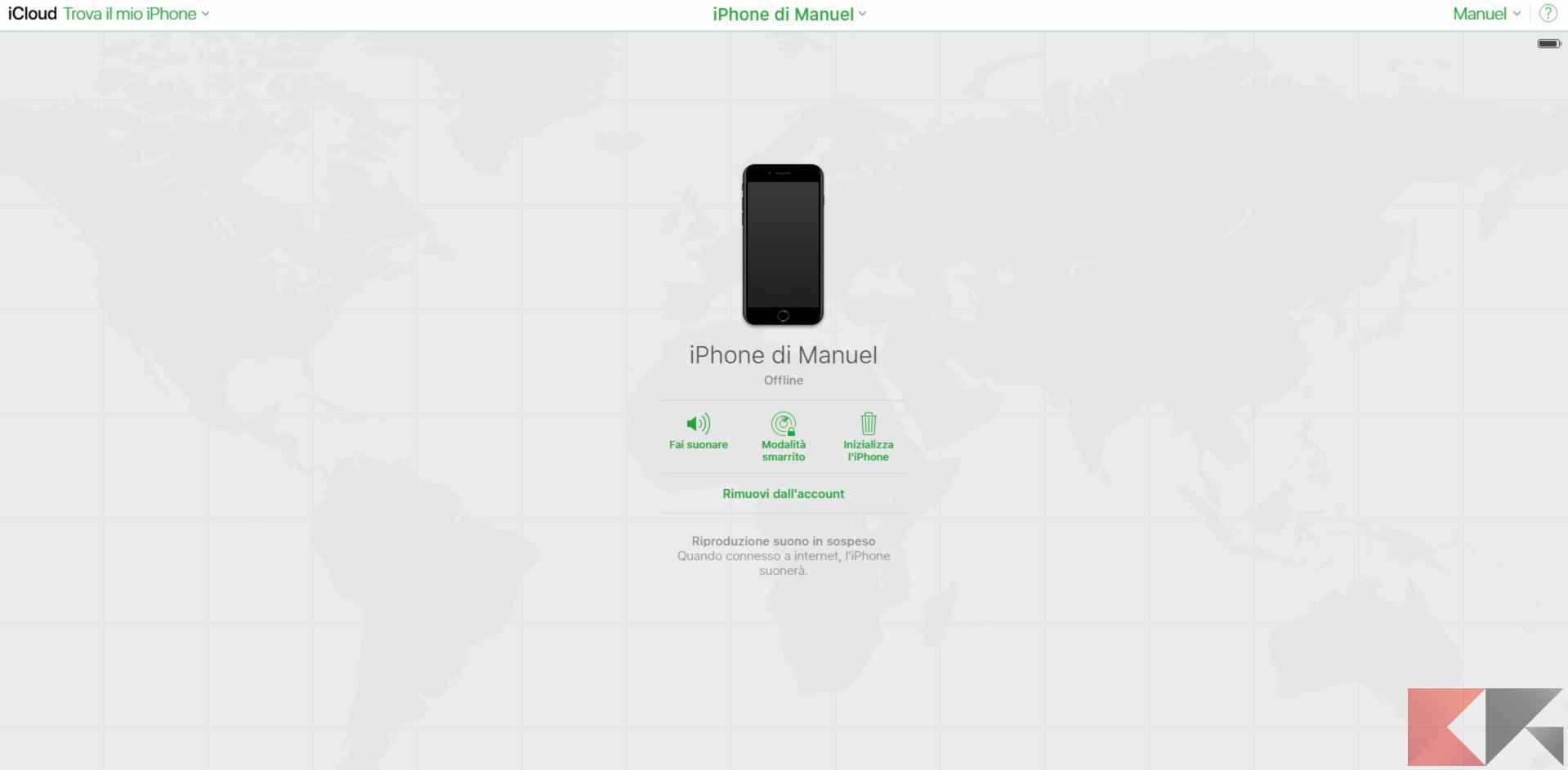 Come trovare iPhone spento | Salvatore Aranzulla