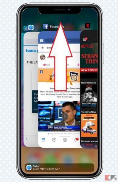 iphone si surriscalda - backroud app multitasking iphone ios