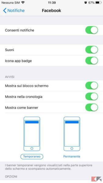 Come disattivare notifiche su iPhone e iPad - Come gestire notifiche su iPhone e iPad