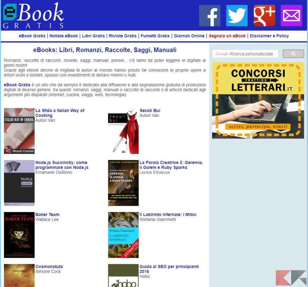 Dove scaricare libri gratis pdf libri da scaricare gratis for Siti dove acquistare libri