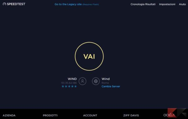 Come aumentare velocità Internet