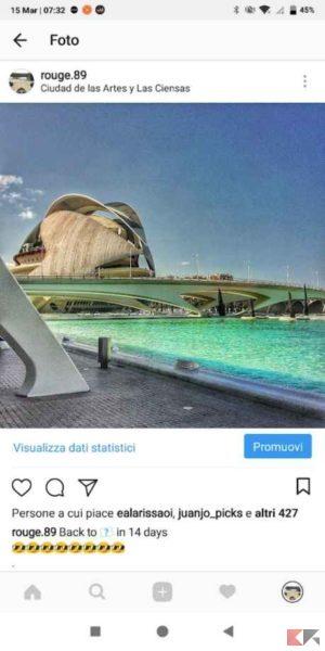 sponsorizzazione instagram