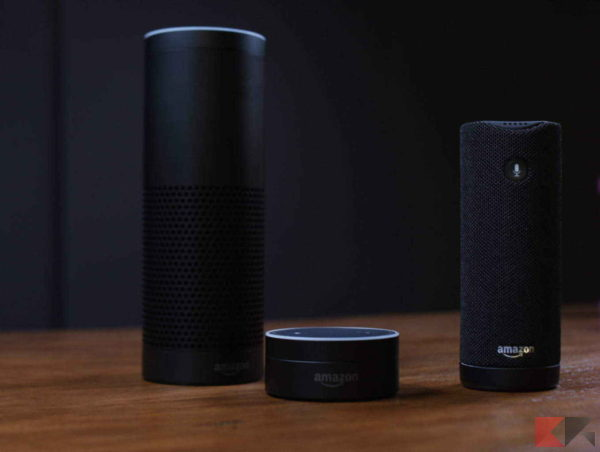 Assistente vocale Smart Home - amazon dot amazon echo amazon echo plus