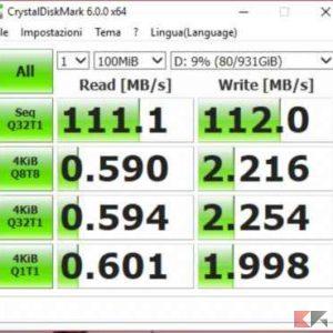 CDB 100mb hard disk