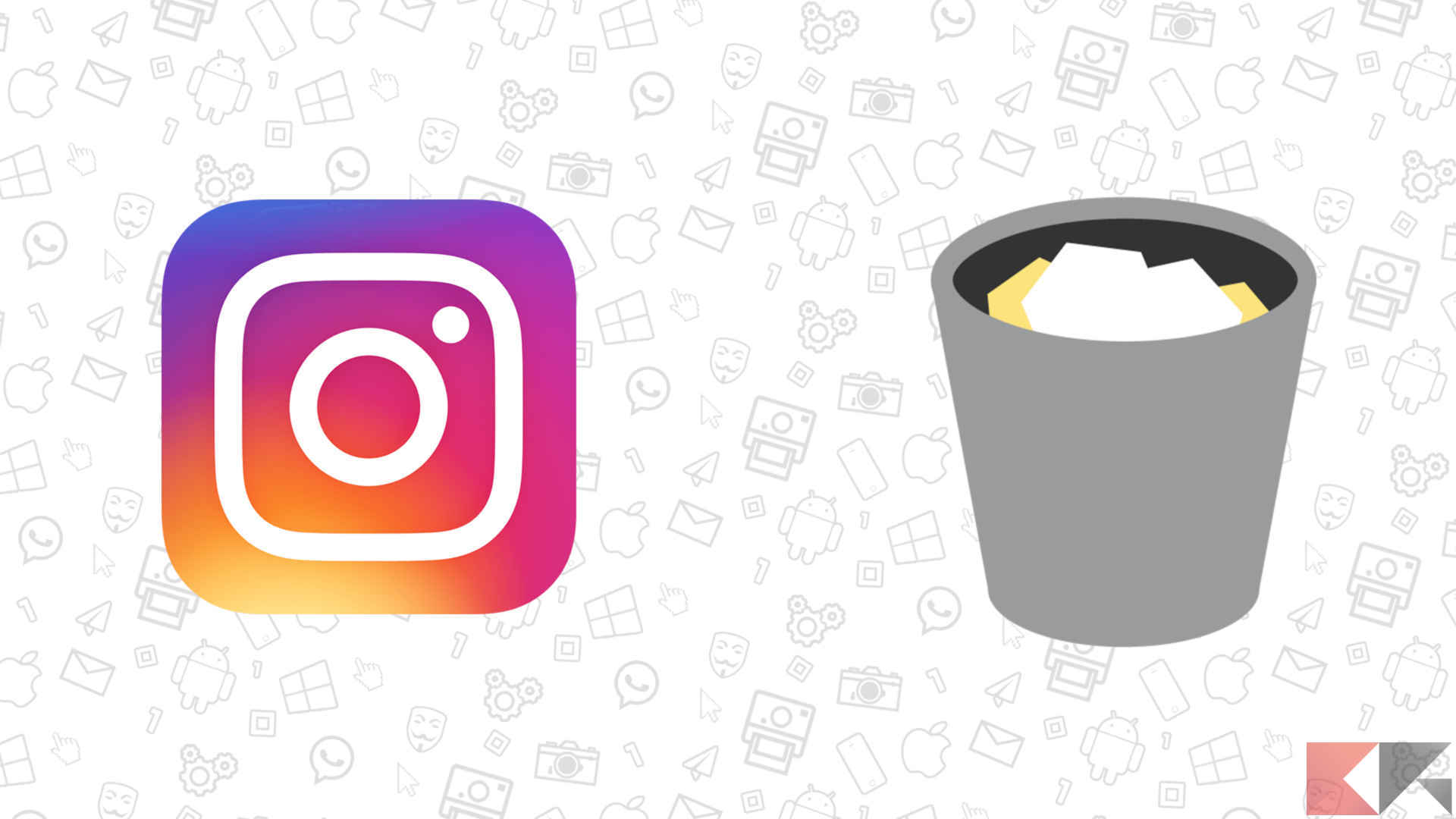 cancellare messaggi instagram