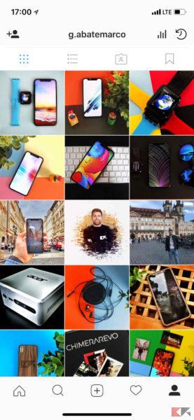 Profilo Instagram
