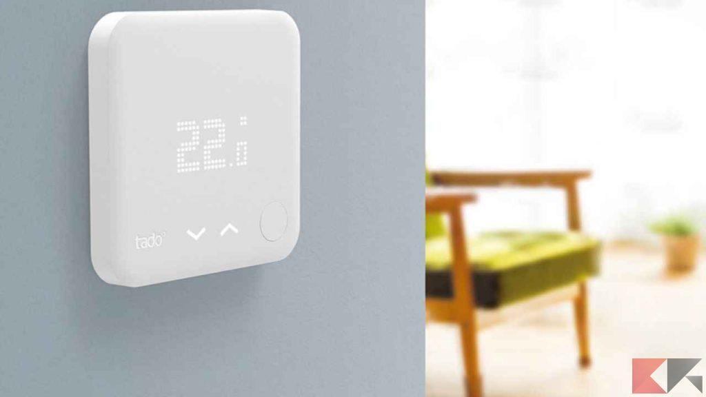 Termostati e regolazione del clima - domotica e casa intelligente