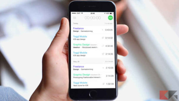 applicazioni iphone per la produttività