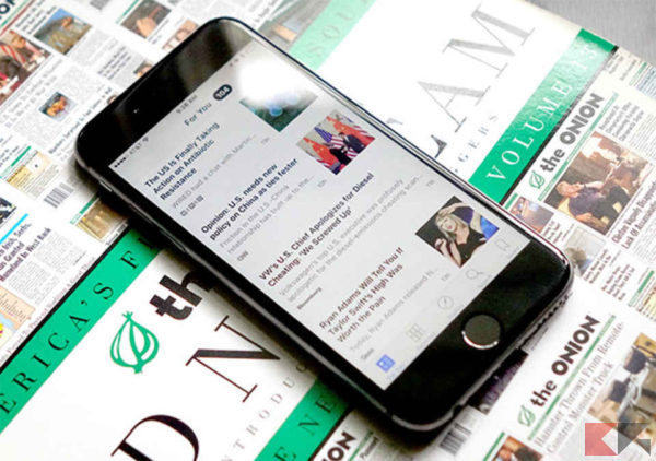 applicazioni iphone di notizie