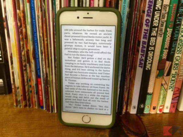 applicazioni iphone per la lettura